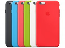 Apple iPhone 6/6S Silicone Case разных цветов