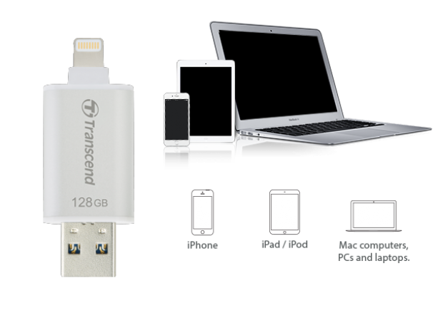 Внешний накопитель Transcend JetDrive Go 300K 32GB для iPhone/iPad/iPod
