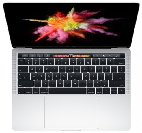 Apple Macbook Pro 15 with retina Display and Touch Bar Mid 2017 MPTV2 512Gb Silver